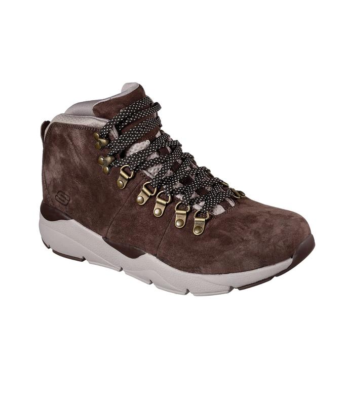 Skechers ● 29см ●мужские кожаные демисезонные ботинки. оригина...