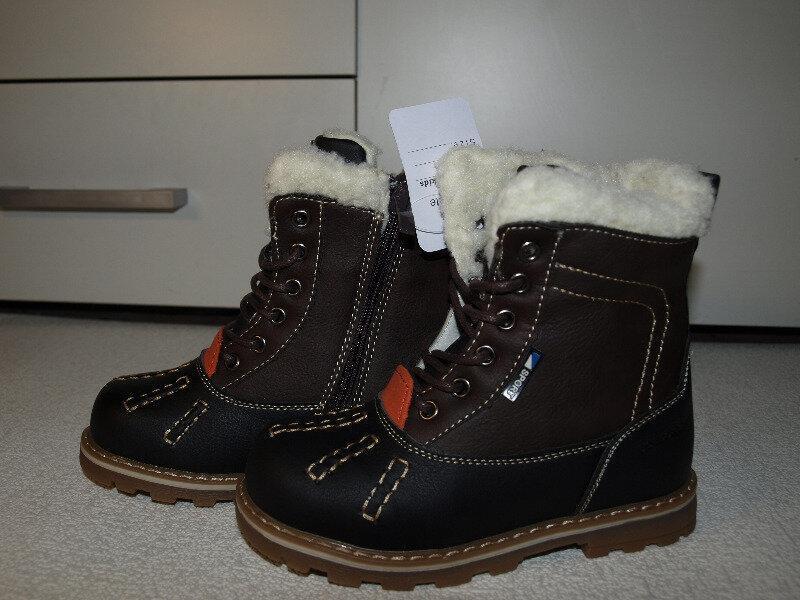 Классные тёплые зимние ботинки 26-31-bbt-