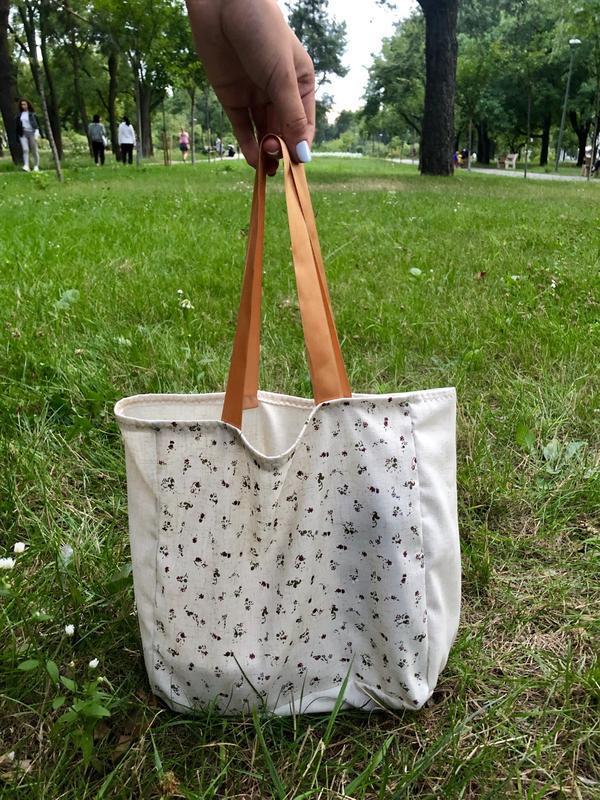 Мини эко сумка