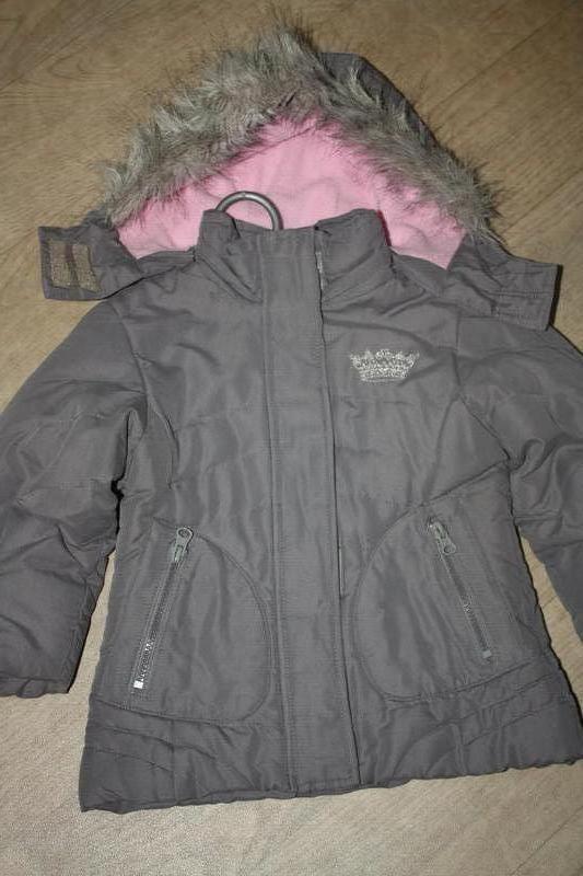 Зимняя теплая термо- курточка ф.palomino р-98/104 в хорошем со...