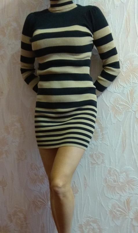 Платье туника трикотажное next р. 44-46