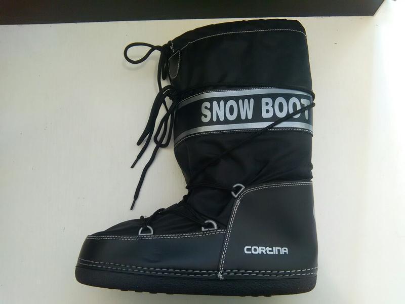 Самые теплющие дутики-луноходы cortina snow boot,италия,унисекс