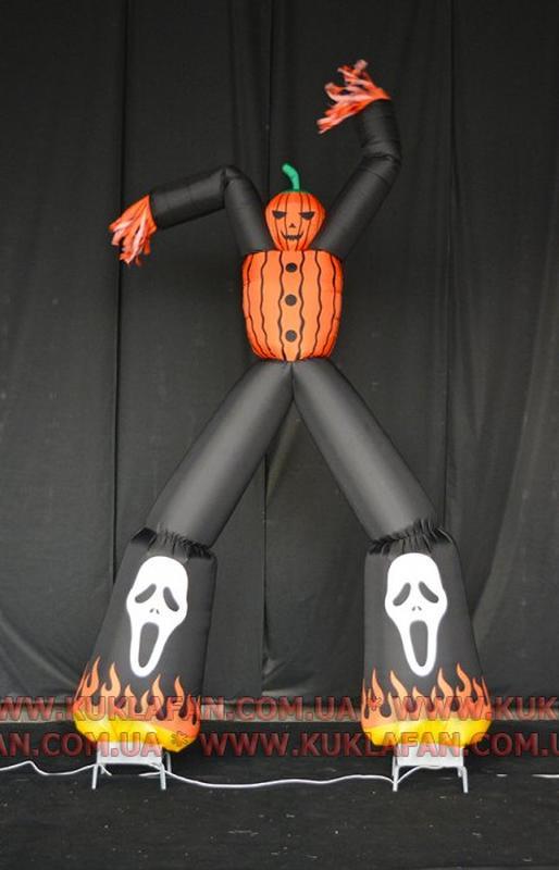 Изготовление пневмостендов на Хэллоуин