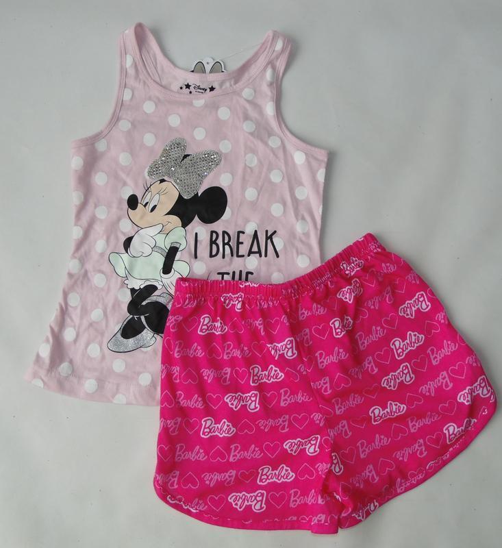 Пижама primark 5-6 лет 116 см