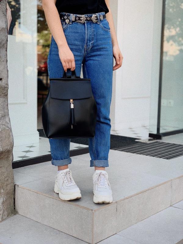 8 цветов! рюкзак трансформер черный городской сумка рюкзачок