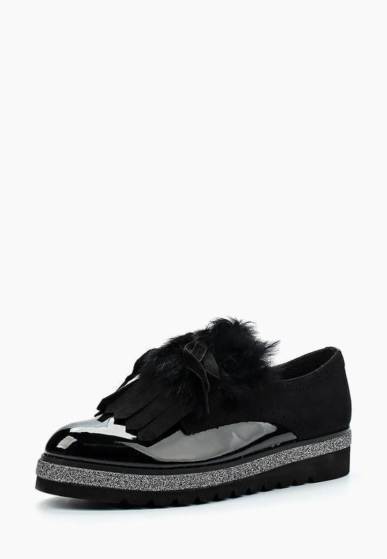 Туфли ботинки натуральный мех 37 последняя пара