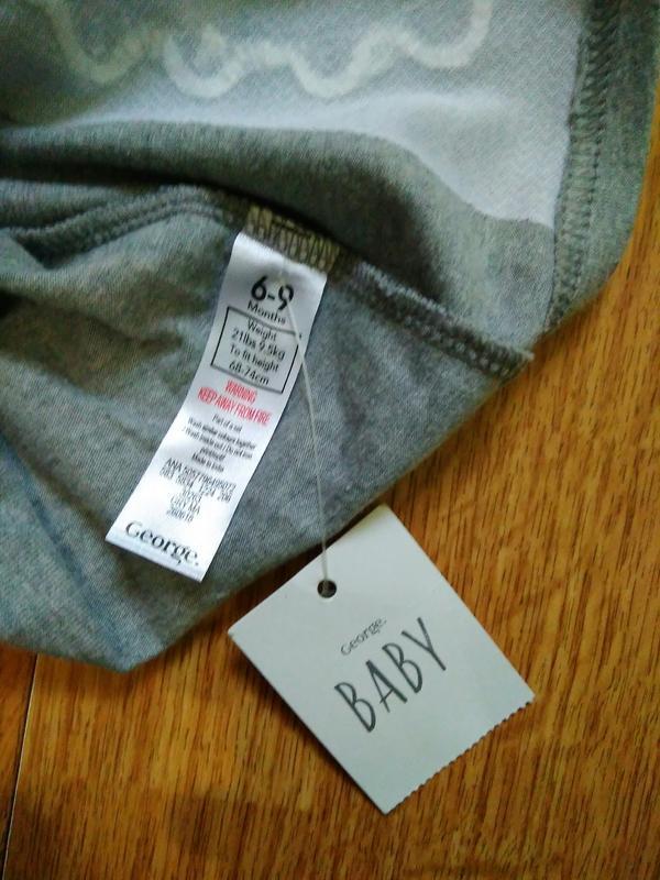 Толстовка, свитшот, джемпер бренда baby george, 6-9месяцев - Фото 5