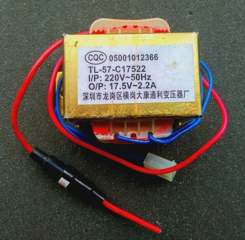 Трансформатор 17.5V-2.2A для акустики, усилителя звука, сабвуфера - Фото 2