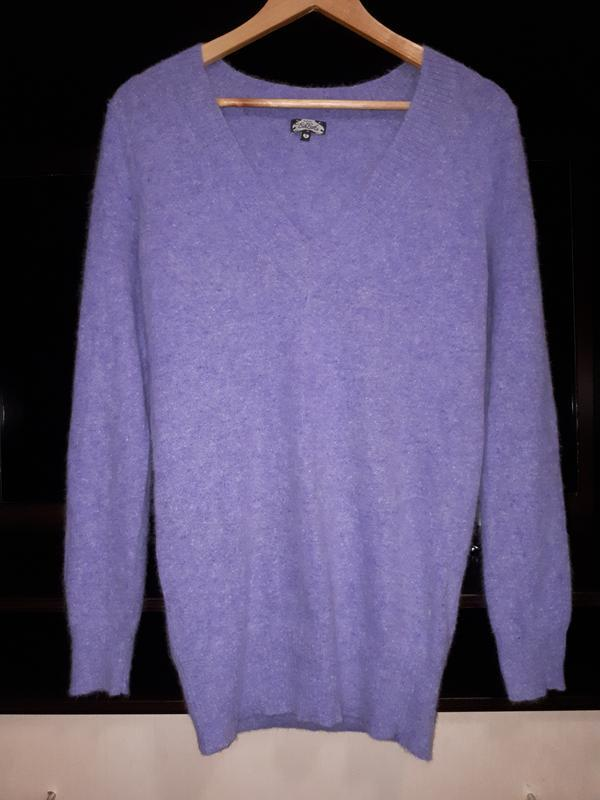 Тёплый свитер джемпер с ангоры раз.s/m