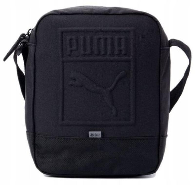 Сумка мессенджер Puma Buzz Portable оригинал.Барсетка adidas Nike