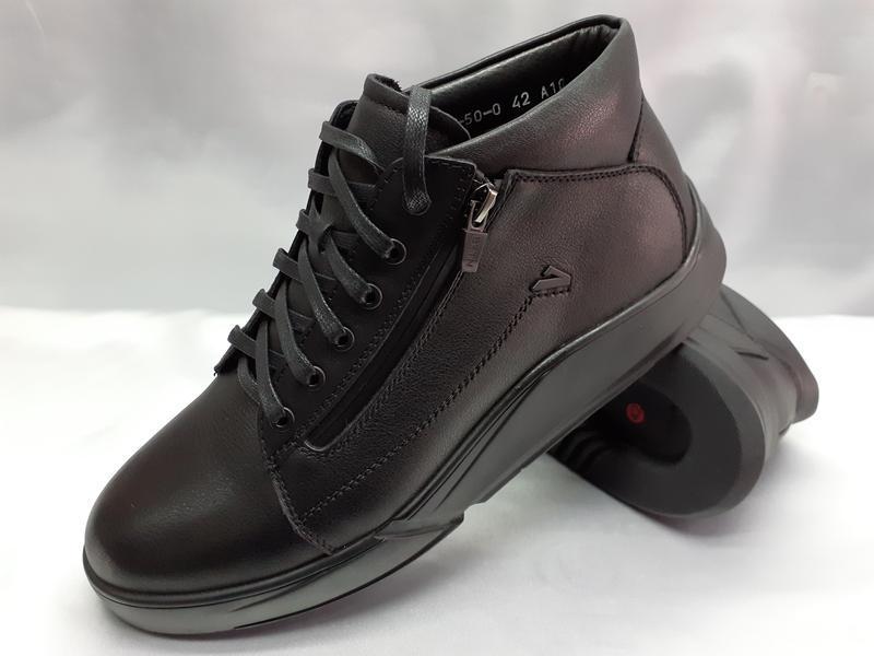 Зимние ботинки под кроссовки на молниях bertoni - Фото 2