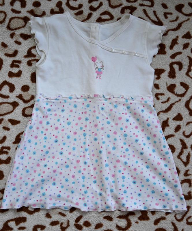 Платье, туника тм с3 90-105 см 2-3 года