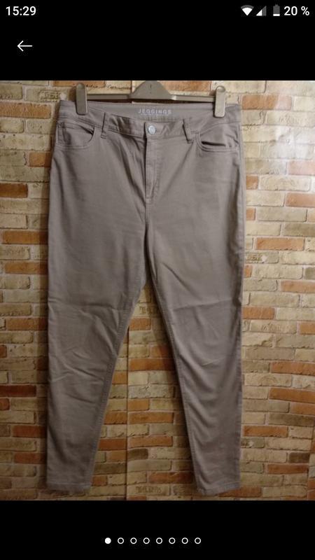Стрейч джинсы джеггинсы скинни 16/50-52 размера