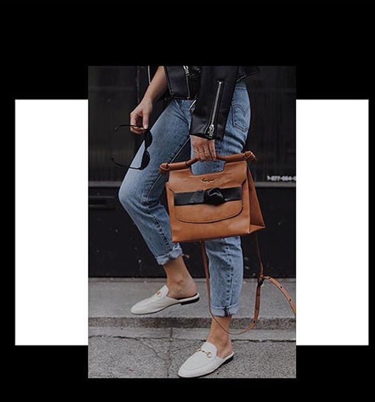 Стильная сумка от дизайнерского бренда foley+corinna