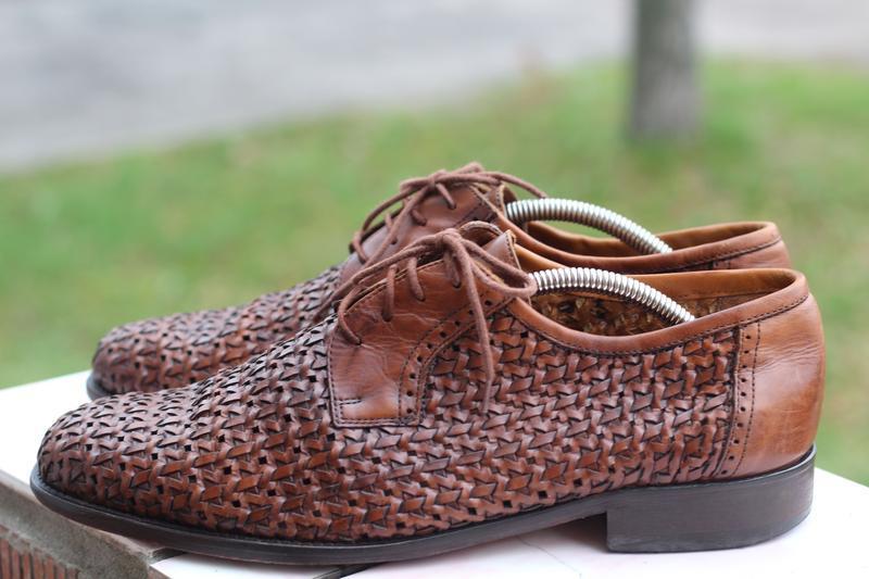 Роскошные кожаные туфли cuoio 42-43