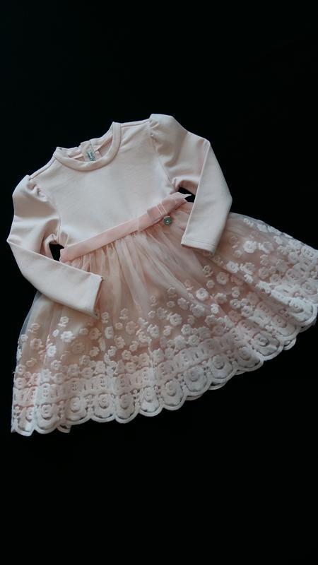 Красивое нарядное платье mayoral (испания) на 2 годика (размер...