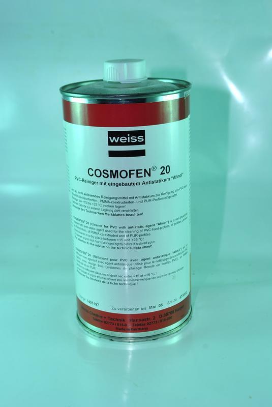 Космофен  20 -  Cosmofen 20 очиститель для ПВХ