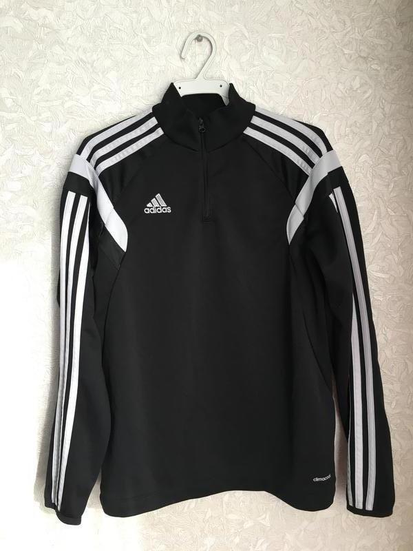 Футбольный лонгслив, реглан, кофта на мальчика 11-12 лет, Adidas