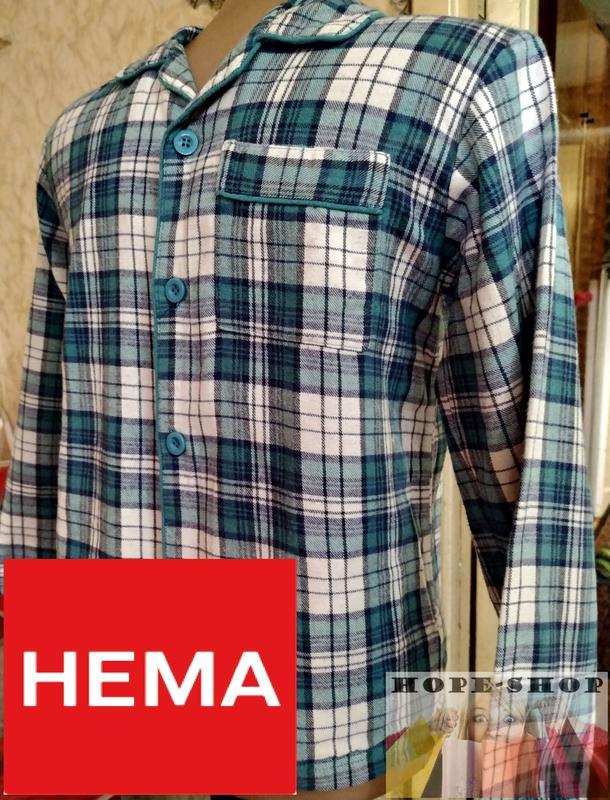 🌙домашняя байковая рубашка,рубашка для сна с длинным рукавом 1...