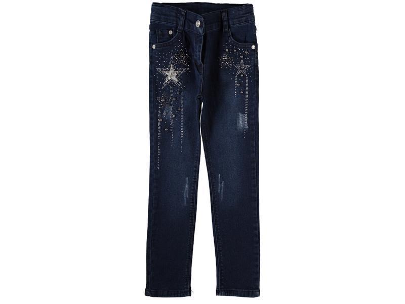 Детские утепленные джинсы на девочку.