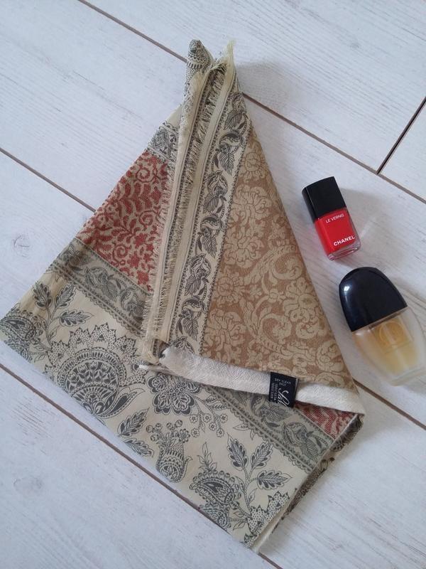 Made in italy статусный шарф wool & silk италия