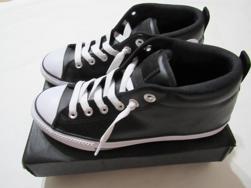 Кожаные кроссовки кеды converse оригинал 38.5 eur