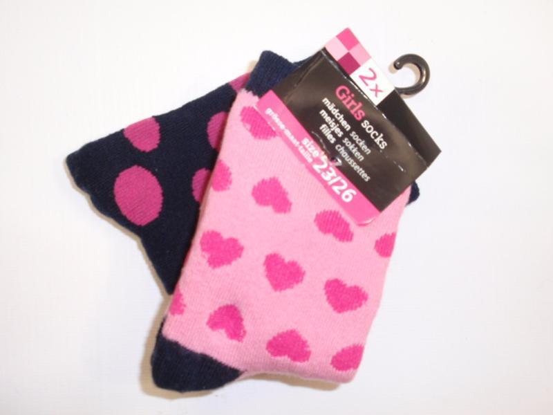 Набор 2 пары теплые махровые носки для девочки женские нидерла...