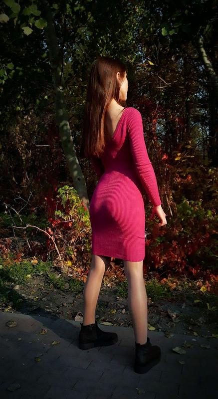 Miss Selfridge новое платье футляр миди рубчик облегающее