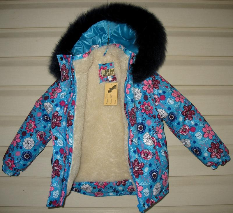 Зимняя курточка для девочки - Фото 3