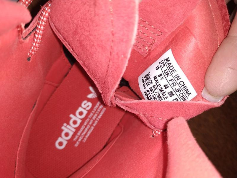Кеды ботинки замшевые адидас м10 44 - Фото 3