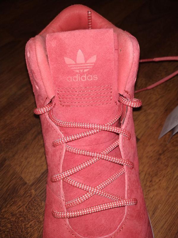 Кеды ботинки замшевые адидас м10 44 - Фото 5