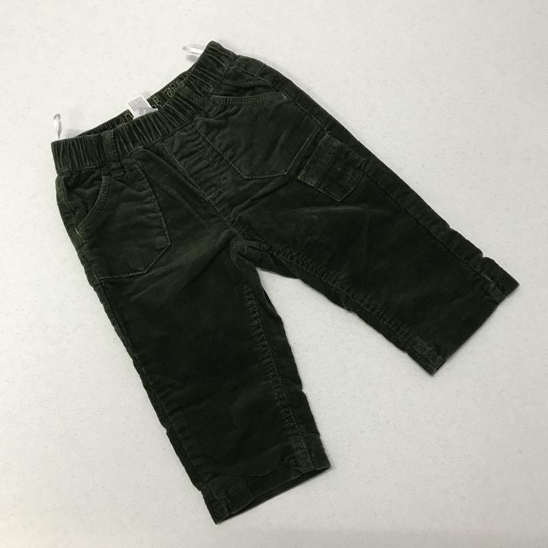 Вельветовые джинсы baby club 68 см