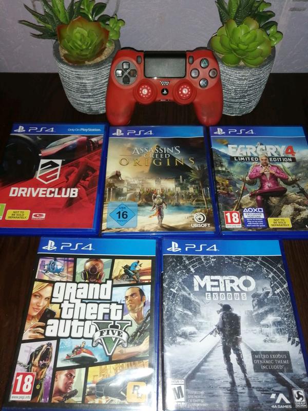 Игры для Sony PlayStation PS4