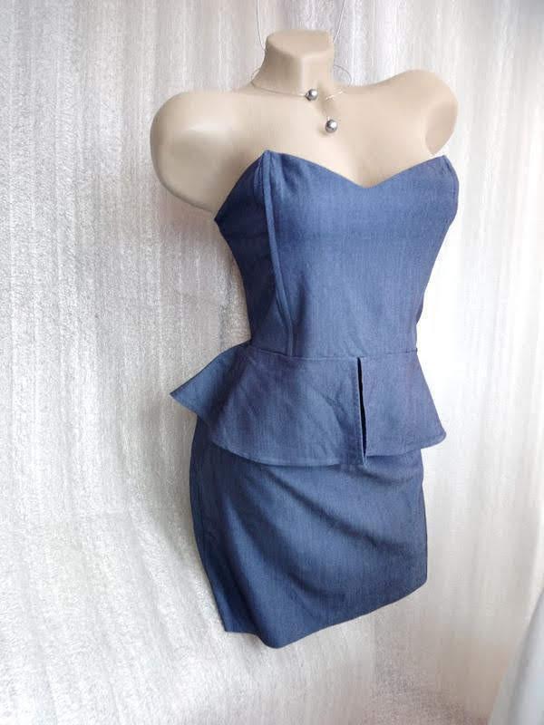 Молодёжное платье бюстье от tally weijl
