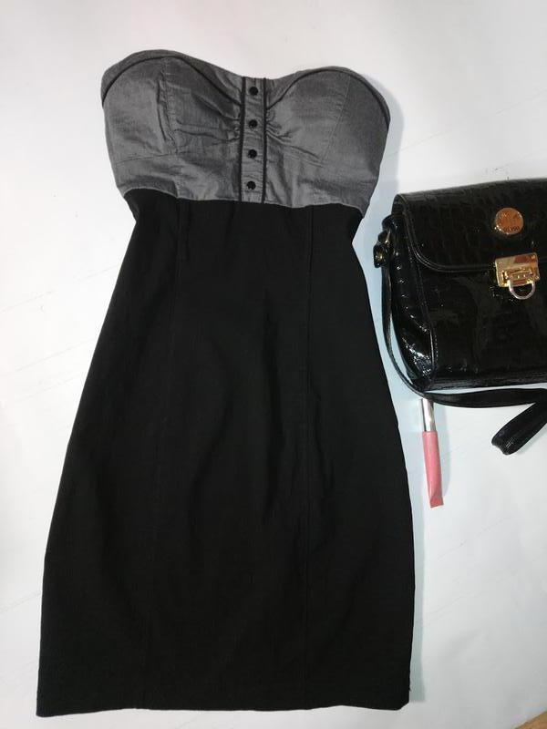 Платье бюстье , утягивающее tally weijl
