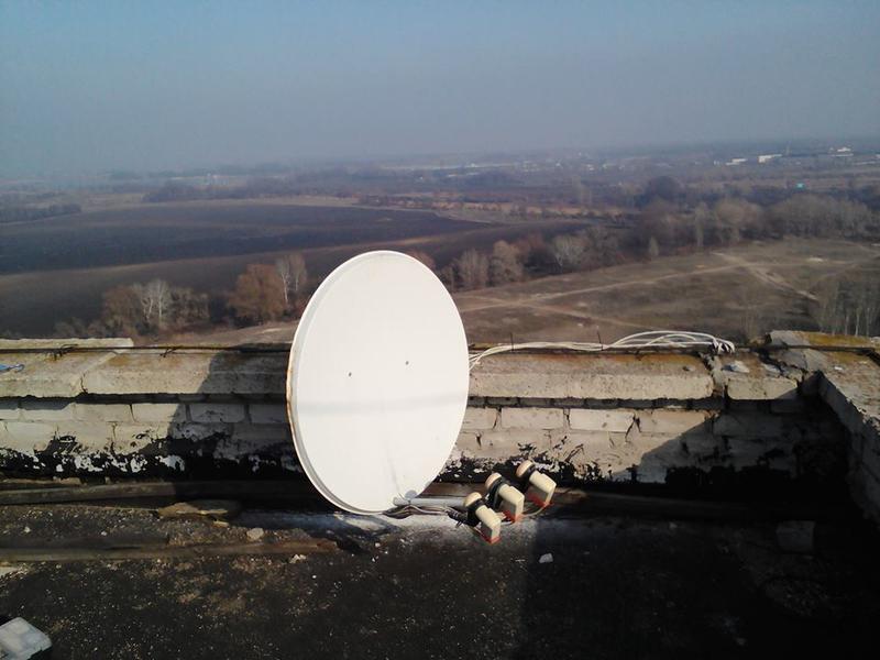 Установка и ремонт антенн спутникового телевидения