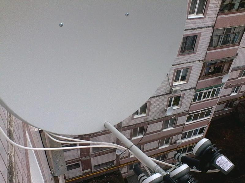 Установка и ремонт антенн спутникового телевидения - Фото 3