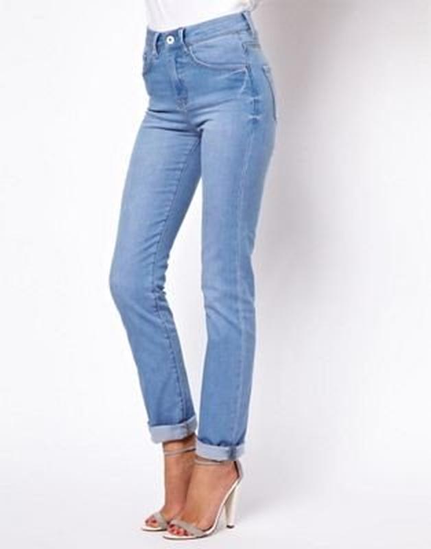 Классные голубые женские джинсы g-star