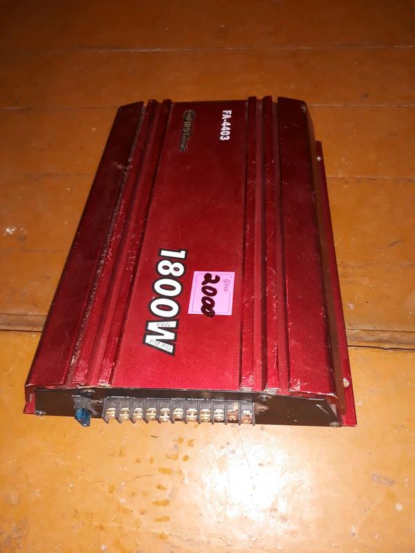 Автопідсилювач FA-4403-1800 ватт