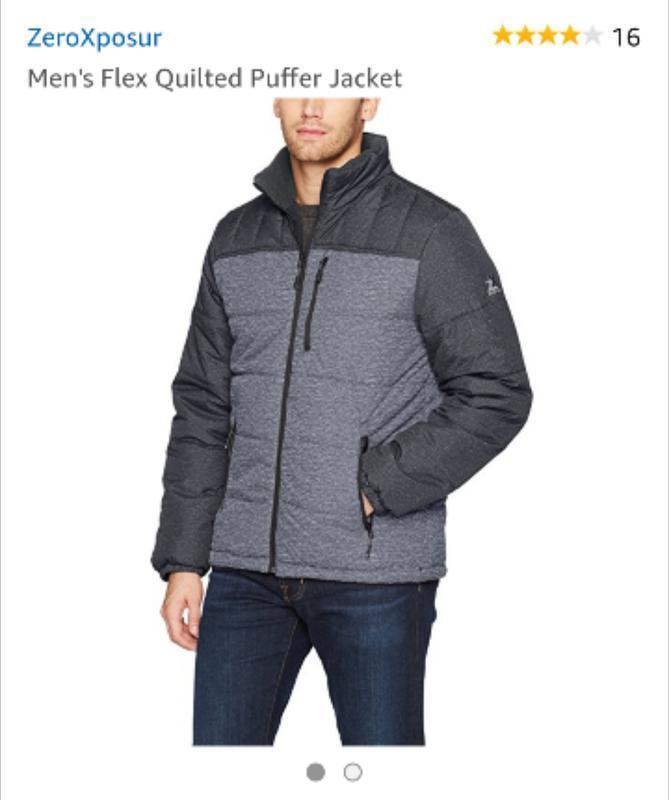 В наличии зимняя куртка zeroxposur размер xxl
