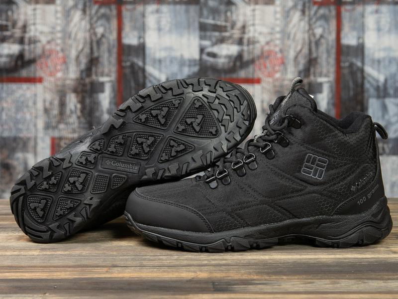 Зимние ботинки columbia черные