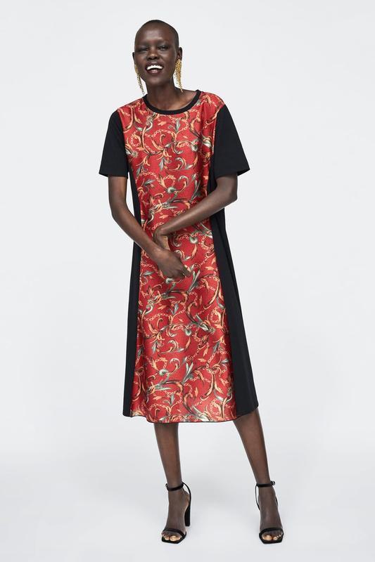 Платье женское zara испания