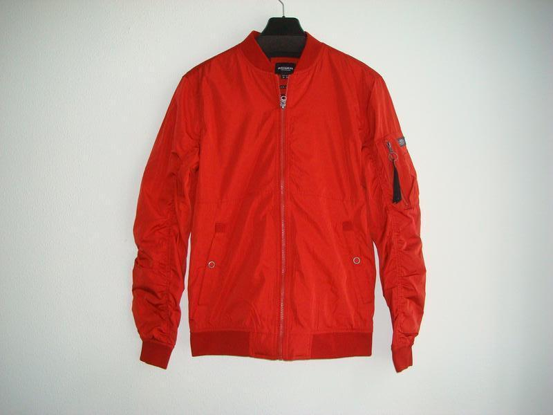 Куртки бомберы мужские pull&bear испания