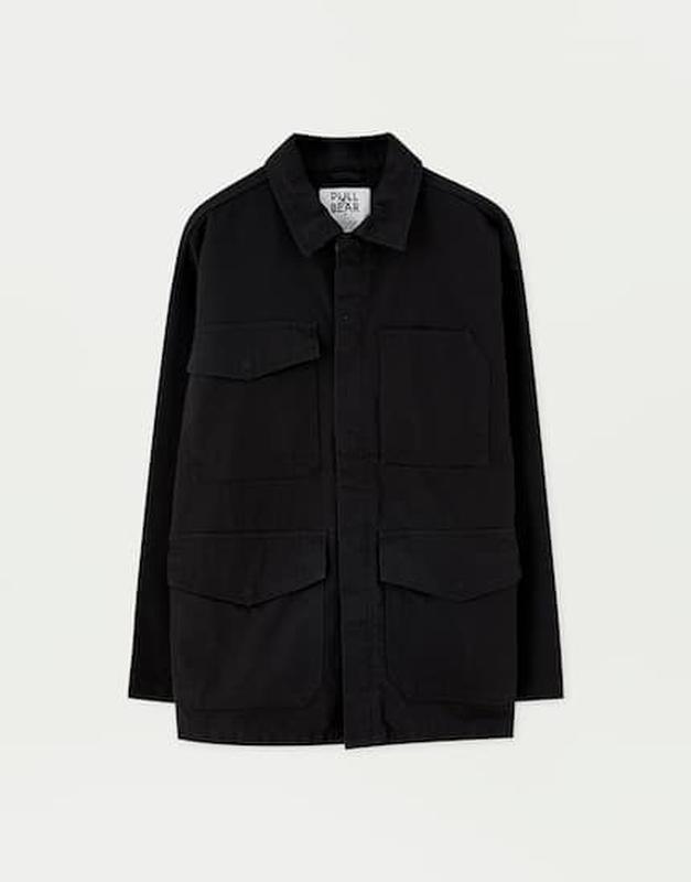 Куртки мужские pull&bear - Фото 4