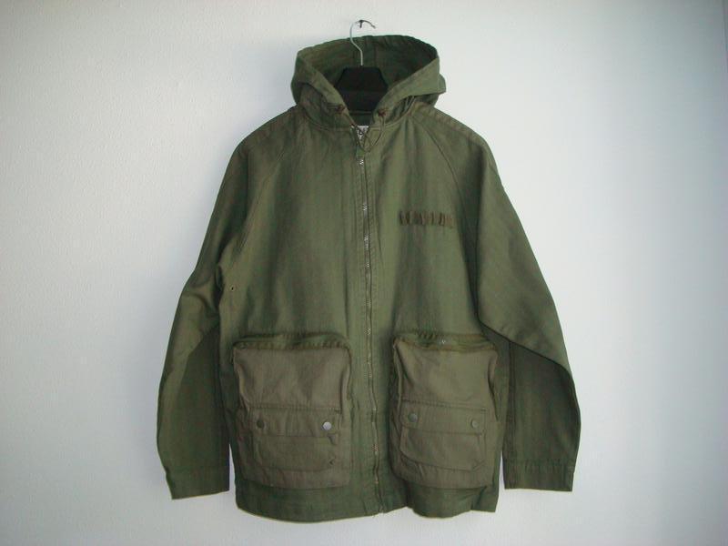 Куртки парки мужские pull&bear испания