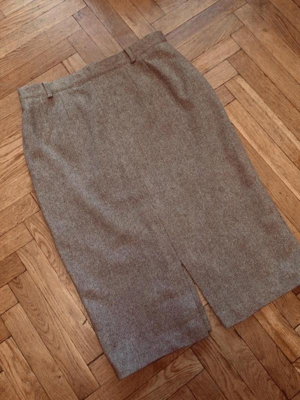 Очень теплая юбка,шерсть,от c&a(брендовые вещи для всей семьи)