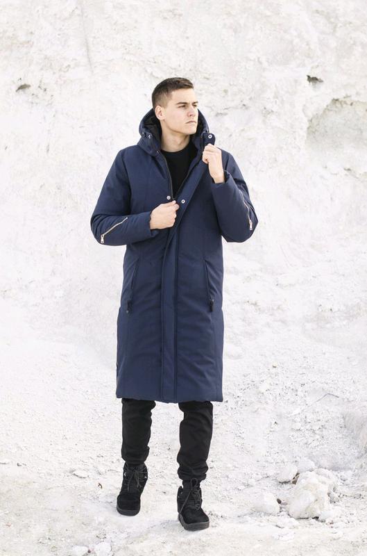 "Куртка-пальто зимова Pobedov ""Champion "" - Фото 2"