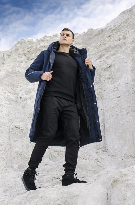 "Куртка-пальто зимова Pobedov ""Champion "" - Фото 5"