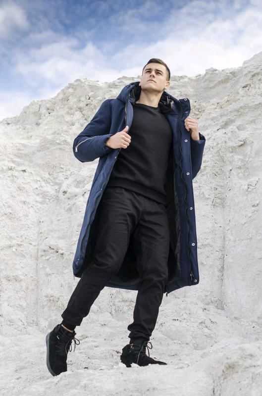 "Куртка-пальто зимова Pobedov ""Champion "" - Фото 8"