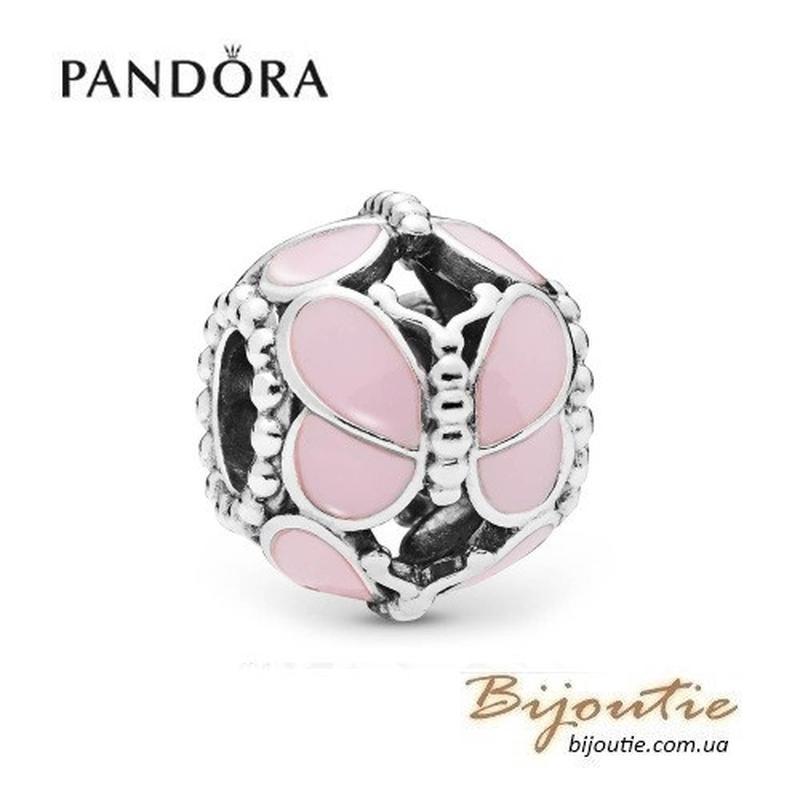 Шарм PANDORA ― Розовые бабочки 797855EN160